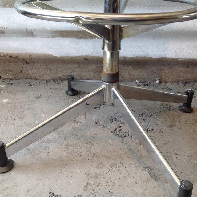 Image of Vintage Cosco Shell Bar Stools- A Pair