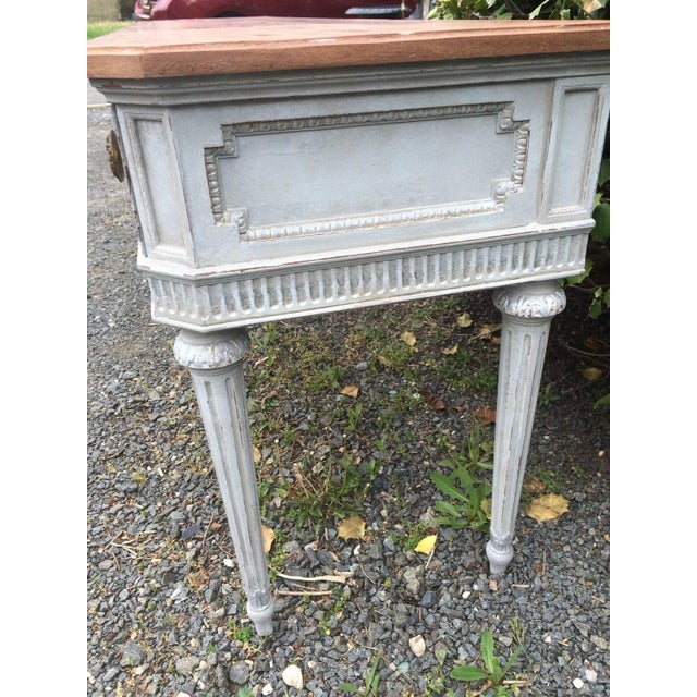 Image of Vintage Gustavian Style French Console Table