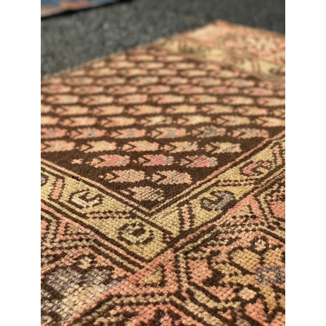"""Antique Persian Malayer Rug - 2'3"""" x 3' - Image 10 of 11"""