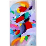 Image of Abstract Color Study Painting