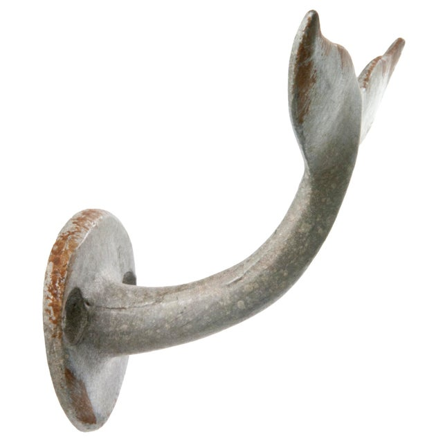 Vintage Inspired Whale Tail Wall Hook - Image 2 of 3