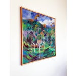 Image of Impressionist Eucalyptus Grove Oil Painting