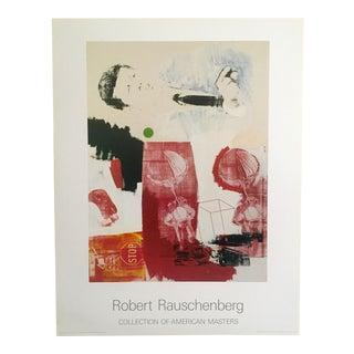 """1964 Robert Rauschenberg Original Offset Lithograph Print Poster """"Quote"""""""