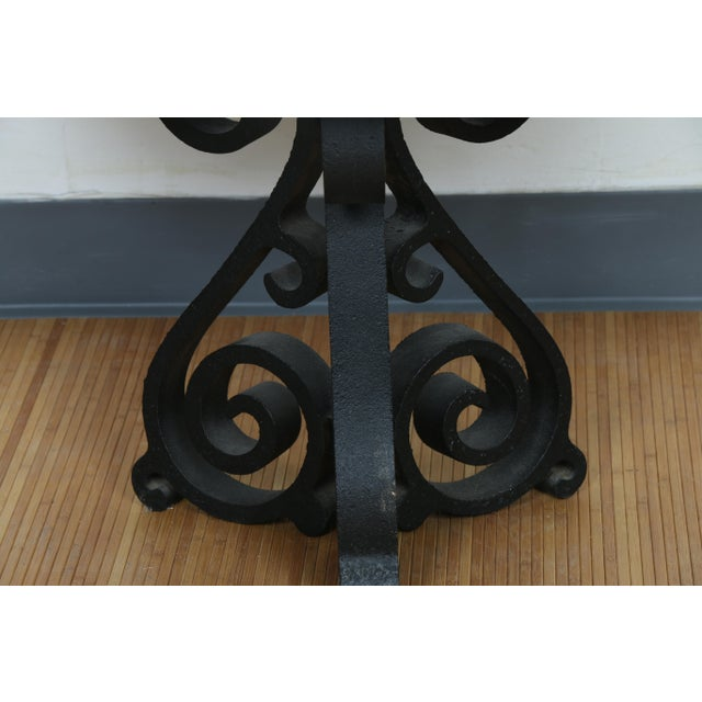 Wrought Iron Small Side Table - Image 7 of 11