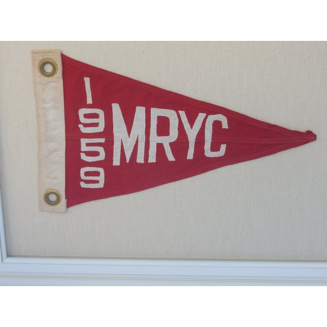 Image of 1959 Yacht Club Boat Race Flag