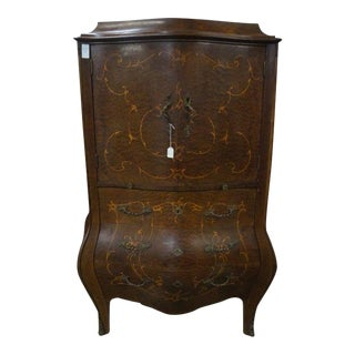 Gentleman's Inlaid Chest With Pullout Desktop