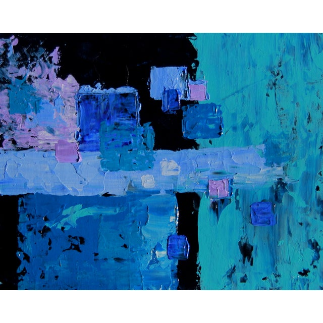 """Image of """"Box Arrangement #5"""" Painting by C. Plowden"""