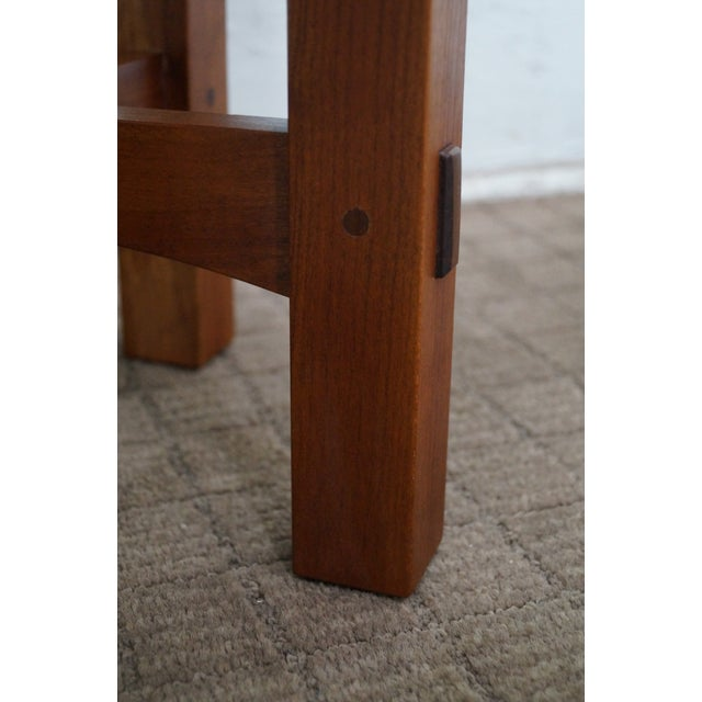 Stickley Mission Style Cherry Side Table (A) - Image 4 of 10