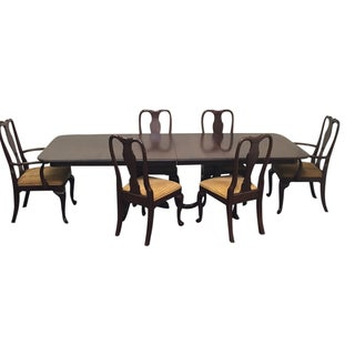 Stanley Furniture Chippendale Stoneleigh Mahogany Dining Set