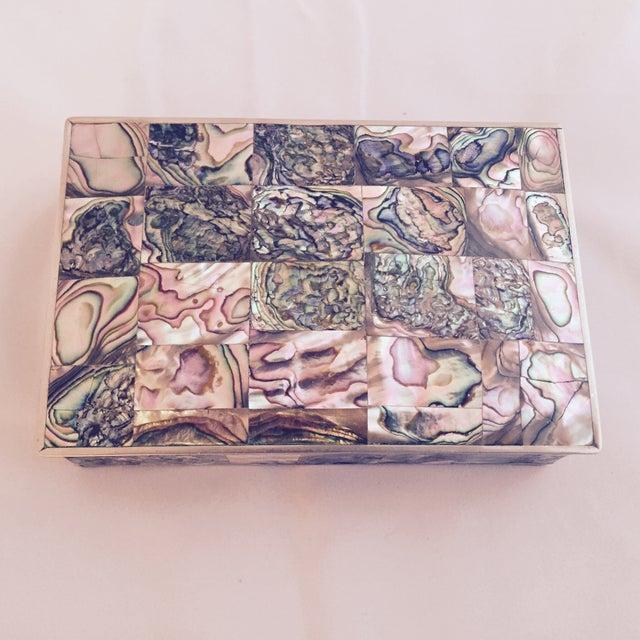 Large Abalone and Alpaca Box - Image 3 of 5