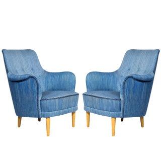 "Pair of Carl Malmsten ""Samsas"" Chairs"