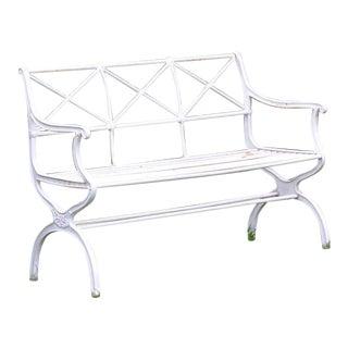 Unusual Schinkel Style Bench