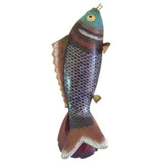 Vintage Cloisonné Fish