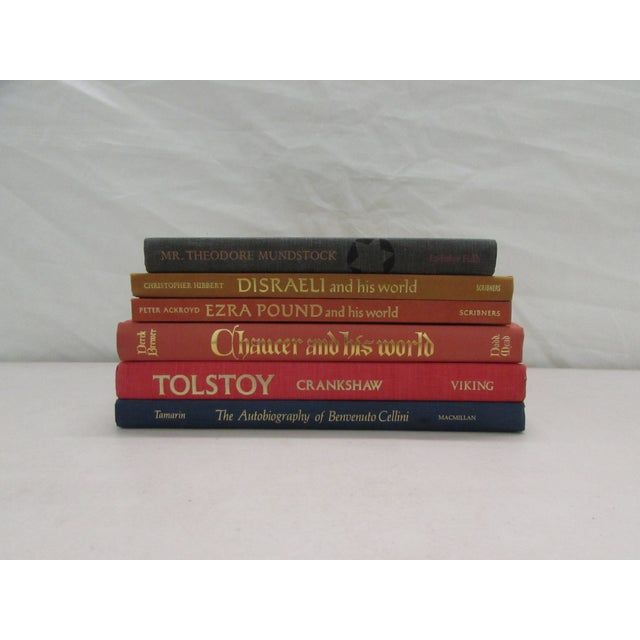 Image of Lives of Famous Authors Collection - Set of 6