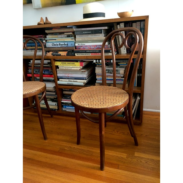 Bentwood Thonet Cafe Chairs - A Pair - Image 4 of 10