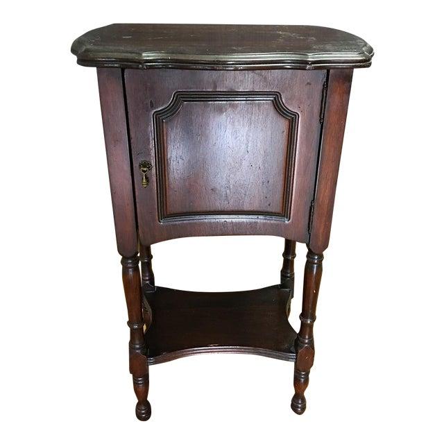 Vintage Antique Side Cabinet Table - Image 1 of 7