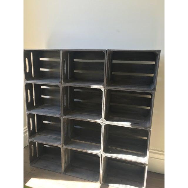 Rustic Crate Shelving - Image 3 of 4