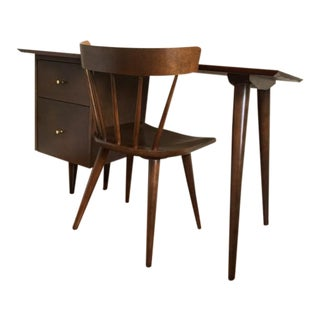 Paul McCobb Planner Group Series Desk & Chair - A Pair