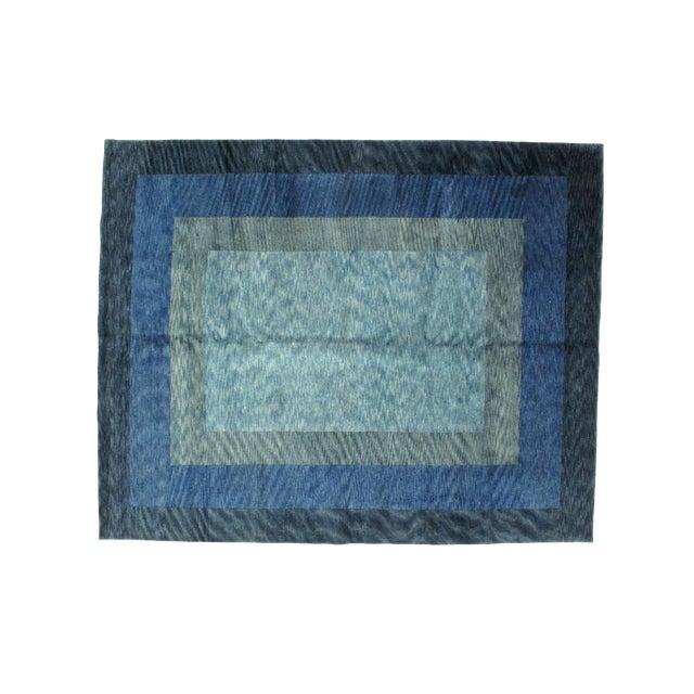 Leon Banilivi Blue Gabeh Carpet- 8′ × 10′ - Image 1 of 5