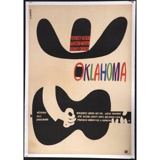 """Oklahoma"" 1964 Polish Film Poster"