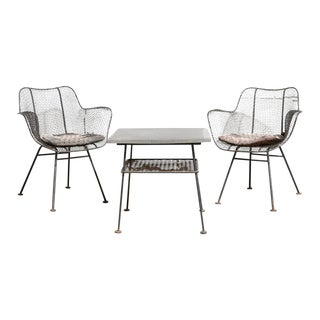 Russell Woodard Sculptura Patio Set - Set of 3