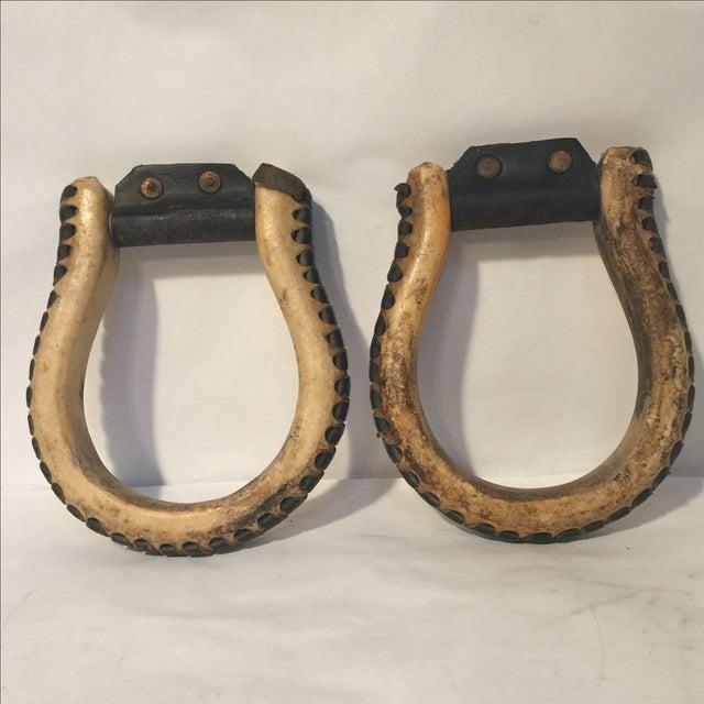 Leather Stirrups - Image 2 of 7