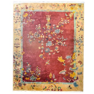 Exceptional Early 20th Century Chinese Art Deco Rug