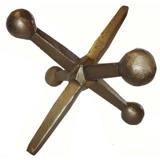"""10"""" Bronze Jack Sculpture"""