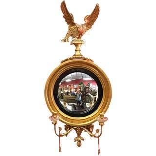 Colonial Williamsburg Federal Bulls Eye Girandole Friedman Brothers Mirror