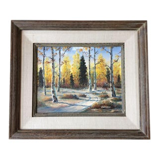 Autumn Aspens Original Painting