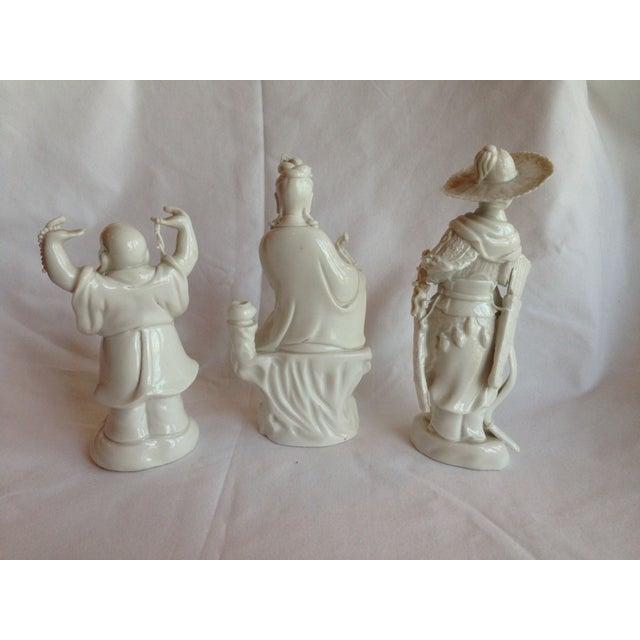 Image of Detailed Blanc De Chine Figures - Set of 3 #661