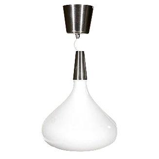 Danish Style Glass Hanging Pendant - Image 1 of 2