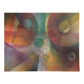 Color Collection Series Painting by Arturo Potestad