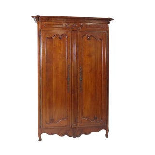 Louis XVI Fruitwood Armoire