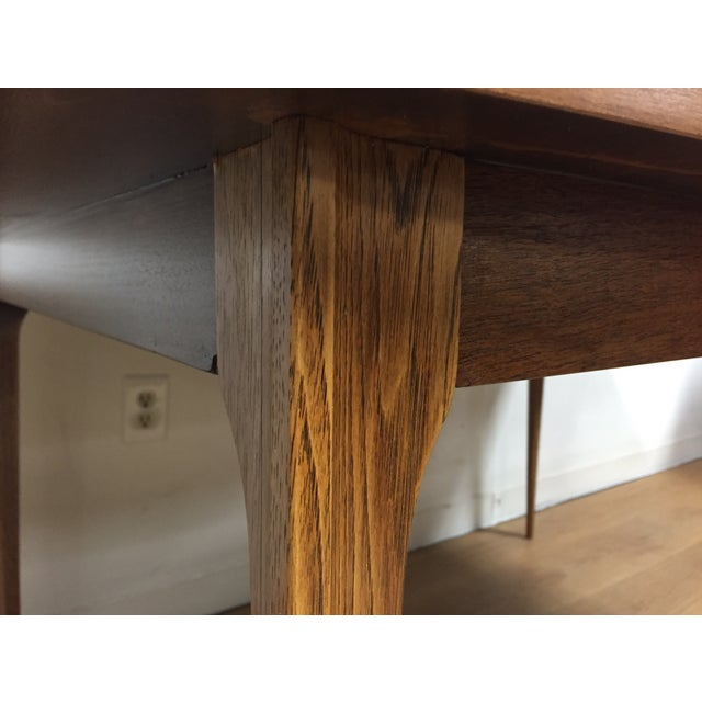 Broyhill Walnut Dining Table - Image 8 of 9