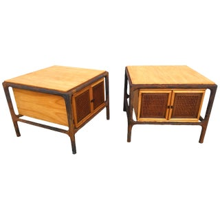 Mid Century Modern End Tables - a Pair