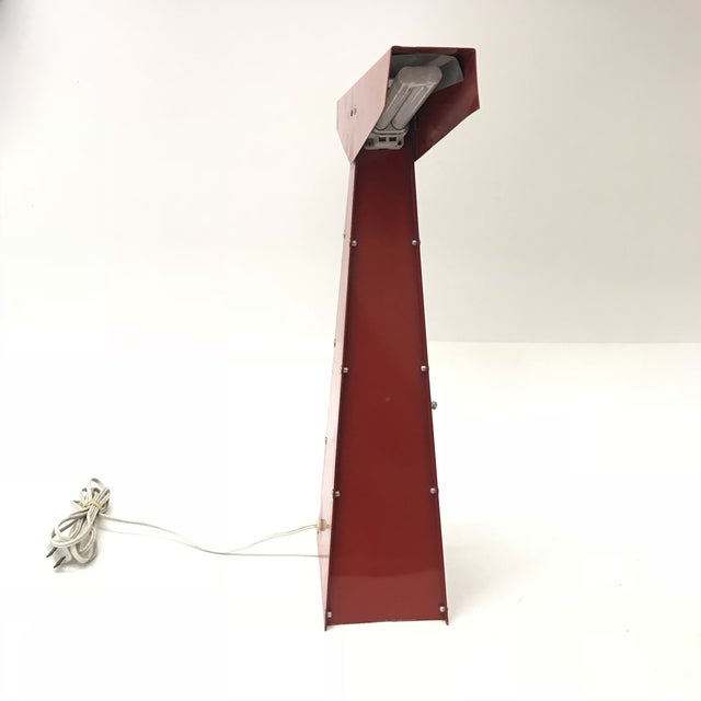 Sculptural Modernist Task Lamp - Image 5 of 9