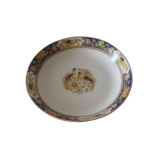 Limoges Round Pin, Ring Dish With Pheasants