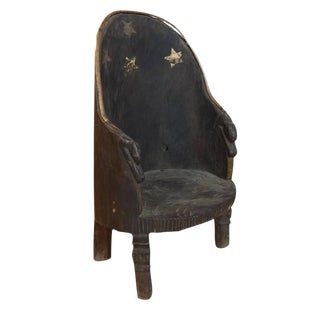Chief's Chair from Nagaland, India