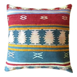 Large Cabin Kilim Floor Pillow Cover