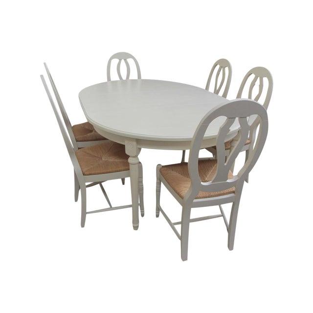 William Sonoma Gustavian Dining Set Chairish