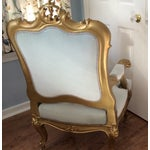Image of French Baroque Gilt Bergere