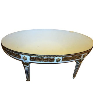 Louis XV Style Mirrored Low Coffee Table