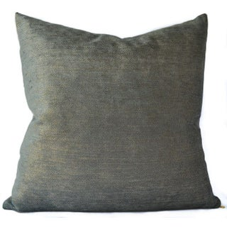 Celerie Kemble Peacock Glimmer Pillow