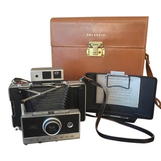 Polaroid Automatic 250 Land Camera & Original Case