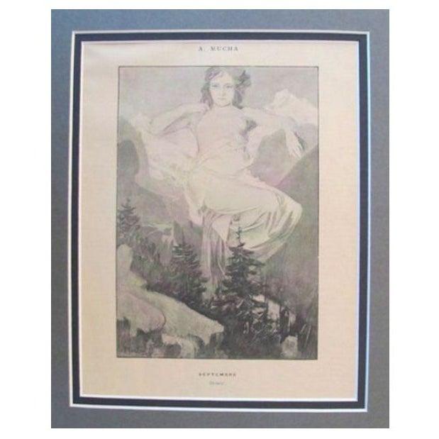Image of 1899 Original Mucha Cocorico Illustration Sept.
