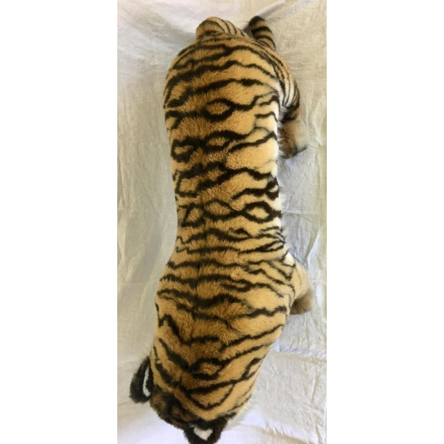Vintage Nordstrom's Advertising Display Life Sized Plush Tiger - Image 8 of 11