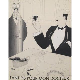 """1930s Paul Iribe """"Tant Pis Pour Mon Docteur"""" Original French Art Deco Print"""