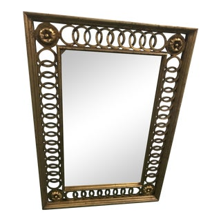 Gold Loop Wall Mirror