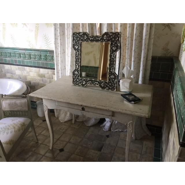 Circa 1770 Painted Rococo Desk - Image 3 of 5